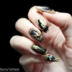 BunnyTailNails: Stamps Like an Egyptian