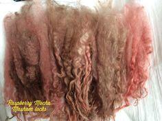 Masham wool locks for Spinning Waldorf Dolls by KnitwitOriginalsUK