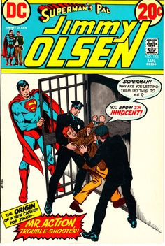 Superman's Pal Jimmy Olsen 1954 155 January 1973 by ViewObscura
