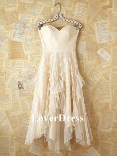 Free People Vintage White Lace Strapless Dress / My Style on imgfave, would be a beautiful rehearsal dinner dress Dress For You, Dress Up, Gown Dress, Dress Outfits, Wrap Dress, Pretty Dresses, Beautiful Dresses, Gorgeous Dress, Wedding Robe