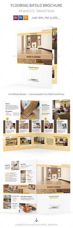 IT \u2013 Software Company Bifold / Halffold #Brochure Brochure - half fold brochure template