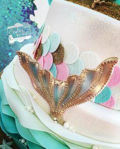 Resultado de imagen para imagenes de tortas con crema de sirenas