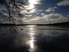 Sunshine and clouds in Jyväskylä