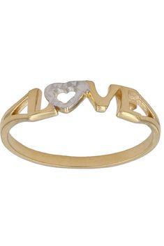 Anillo de oro de 18K #love . Ya está disponible en nuestra tienda online. Precios sin competencia!!!  #anillos #sortijas #oro #joyas #joyería #jewelry #gold #anillodecompromiso #bodas #novias #wedding #moda #fashion #tendencia #trendy #look #mujer #loveit Love, Bracelets, Jewelry, Fashion, Diamonds, Silver Rings, Wedding Rings, Brides, Budget