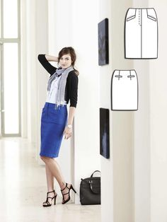 Black and Blue: 7 Moody Women's Sewing Patterns – Sewing Blog ...