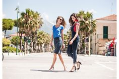 Discover the exclusive WR.UP Dress and Dungaree with Shaping Technology! Dungarees, Overalls, Spring Summer 2015, Workout Wear, Dance Wear, Push Up, Indigo, Sportswear, Denim
