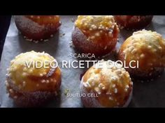 Come fare le VENEZIANE, brioches gustosissime - YouTube