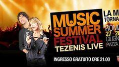 Music Summer Festival porta 50.000 a Piazza del Popolo