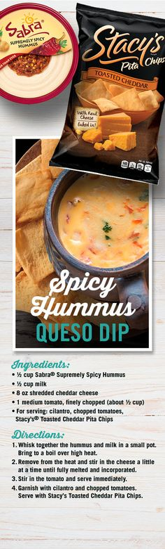 Save $1.00 when you purchase Any 2 Sabra Hummus or Guacamole 8 to 10oz cont. or Stacy's Pita Chips, Pita Crisps or Bagel Chips 6.75 to 8oz pkg. Mix and Match.