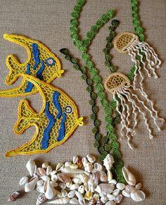 Lovely blouse. Irish crochet
