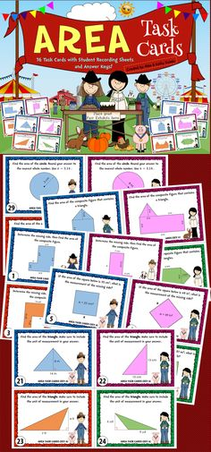 This pack contains a total of seventy-six (76) task cards divided into three (3) sets. The problems in this pack will provide excellent practice to students in different skill levels. $