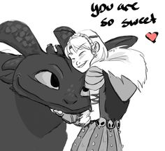 Cute comic strip of Hiccup being distracted by Astrid