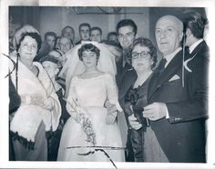 1960 Diligenti Quintiplets Maria Esther Weds Buenos Aires Argentina Wire Photo | eBay