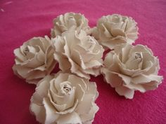 This has got to be the best tutorial yet! Beautiful Handmade Paper Roses Tutorial