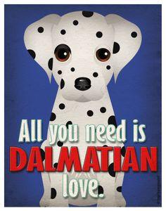 dalmatian art | Like this item?