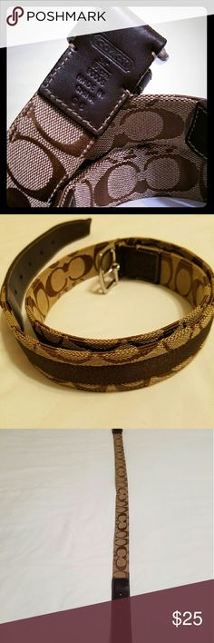 Authentic Coach belt ON HOLD UNTIL THE 15TH FOR Gb Authentic Coach belt no flaws never used Coach Accessories Belts