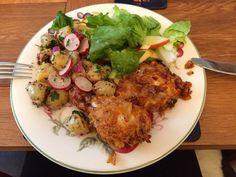 Gluten Free Southern 'not so fried' Chicken. #glutenfree #coeliac #glutenfreerecipes