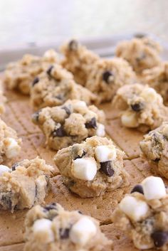 S'more Cookies - I really do need to just start a board devoted to s'mores.