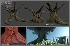 Vegetation from Dishonored Assets made from 2010 to 2013