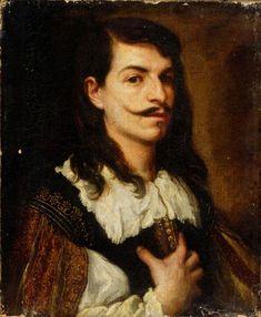 José Antolínez (1635-1675). Portrait of a Man
