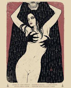 The legend himself @godmachine  #brutlikes #illustration #lowbrow #popsurrealism #popart #popculture #art #print #darkart by brutmagazine