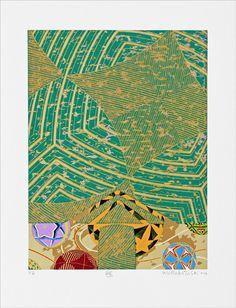 Wakabayashi - Serigrafia 60x50 cm