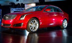 Cadillac unveiled its new sedan, the ATS