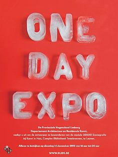 One Day Expo #poster #affiche