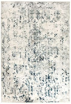 We love the faded, vintage style in modern tones in this rug: Elizabeth 332 White Blue Grey Abstract Patterned Modern Rug Contemporary Rugs, Modern Rugs, Modern Decor, Rug Under Bed, Rug Texture, Types Of Carpet, Carpet Styles, White Carpet, Transitional Rugs