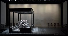 The Dialogues of the Carmelites. Opera Theatre of St. Louis. Scenic design by Andrew Lieberman. 2014