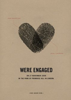 "So, this invite is saying they ""were"" engaged, like, they use to be engaged? Or is it suppose to be ""we're"" like, we are? Geez  Unique Wedding Invitations 