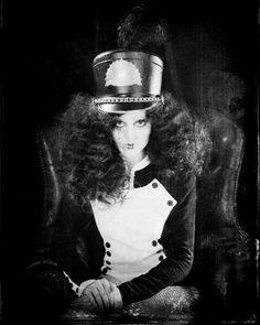 vintage ringmaster circus makeup & costume