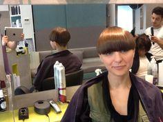 Short Hair With Bangs, Long Bangs, Short Hair Cuts, Short Hair Styles, Kelly Cut, Bowl Haircuts, Bowl Cut, Page Boy, Bob Hairstyles