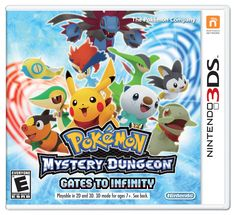 Nostalgia: Pokemon Mystery Dungeon: Gates to Infinity for 3DS. I loved playing pokemon games when I was a kid