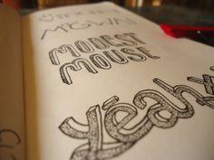 Band Type by Sheena Deviah, via Behance