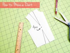 This is an easy peasy trick and if you've ever dabbled in a little bit of pattern drafting, you've probably done this several times. Darts are basically excess fabric pick-ups that, when sewn toget...