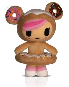 Tokidoki  donutella plush