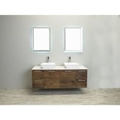 Eviva Luxury 60-inch Rosewood Bathroom Vanity cabinet