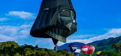 Darth Vader Hot Air Balloon Takes the Dark Side to the Skies -  #balloons #darthvader #starwars