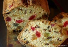 Chlebík s kandizovaným ovocím