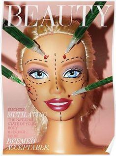 Beauty Magazine Poster