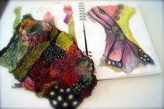 Jean Gauger butterfly jacket process