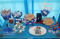 doctor who party ideas | here s the fun dessert table