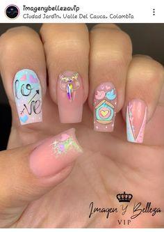 Nail Art Designs Videos, Nail Designs, Hello Nails, Nail Spa, Pedicure, Pretty, Beauty, Instagram, Work Nails