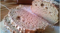Zabkenyér recept: Zabkenyér hozzávalói (1 db 75 dkg-os kenyérhez): 30 dkg zabliszt10 dkg búzasikér5 dkg apró szemű zabpehely+3 dkg a tetejére2 teáskanál himalája só7 gramm instant (szárított) élesztő1