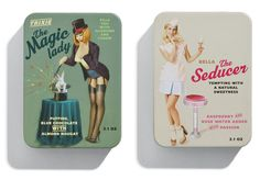 This set of chocolate tins is ridiculously fun.