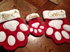 DIY Christmas stockings for animals