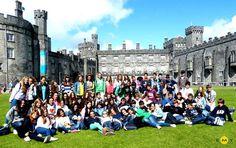 EMY Cursos de idiomas en el extranjero. Cursos de inglés en Irlanda. Curso de inglés en el Condado de Kildare. Excursión a Kilkenny. EMY 2012.