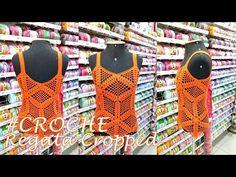 Regata Cropped De Crochê - Henrique Silva TV - YouTube