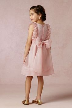 Mae Dress from BHLDNRuffles, pintucks, and organza! This perfectly pink, exquisite silk dress for your special little miss is even more darling with ballet flats and a flower crown. From LOVE by Nellystella. Back zip. Silk tulle; polyester lining.